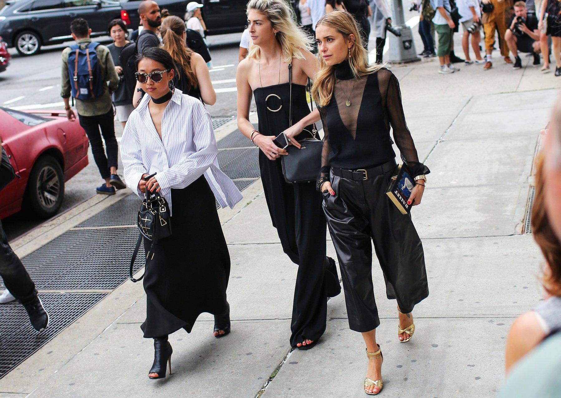 Best Of New York Fw Street Style The Hidden Closets