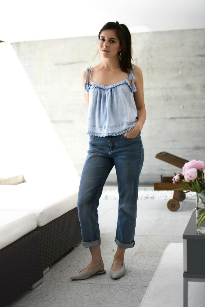 bluetop jeans